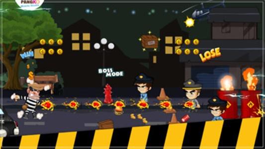 小偷VS警察跑2截图