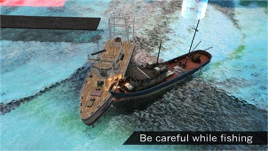 钓鱼船模拟器2019截图