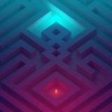 发光的立方体