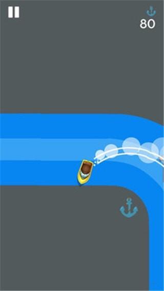 船锚漂移截图