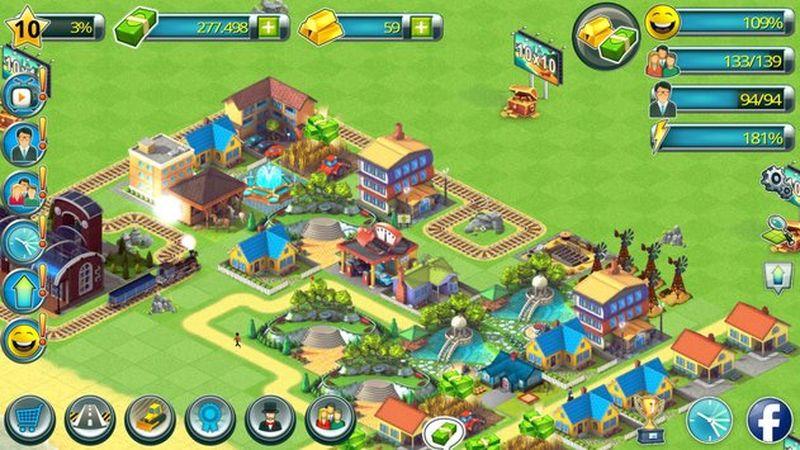 热带岛屿海滨城镇截图
