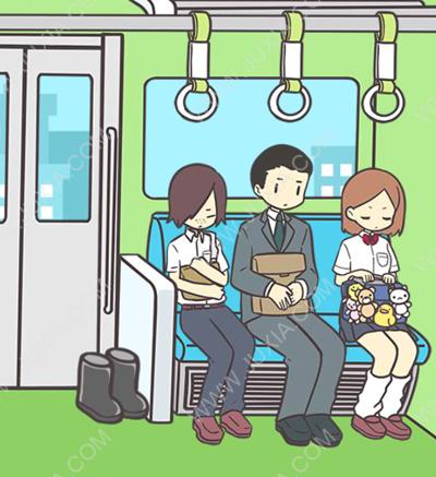 地铁上抢座是绝对不可能的第二十九关过关攻略