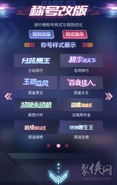 qq飞车赏金车王称号改版详情介绍
