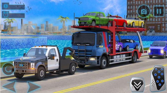 汽车运输者拖卡车截图