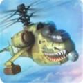 战争打击武装直升机突击