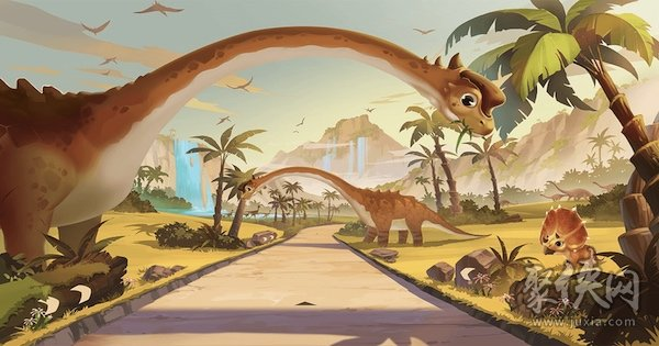 qq飞车侏罗纪公园地图攻略详情介绍