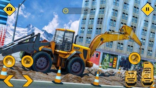 香椿挖掘机施工