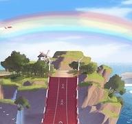 反向彩虹风车岛