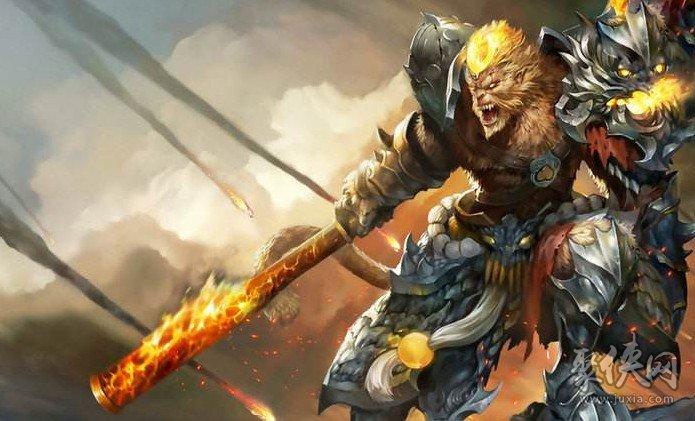 英雄联盟齐天大圣孙悟空重做归来 刺客猴子转战士