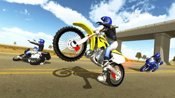 公路摩托3D截图