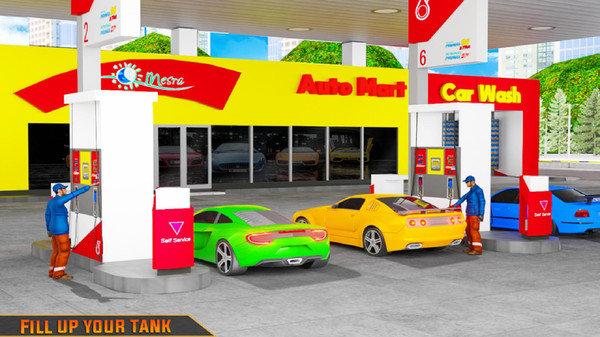 加油站模拟器截图