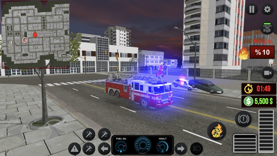 Fire Truck City 2截图