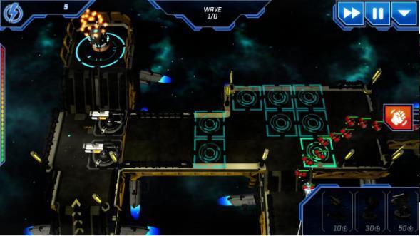 宇宙平台防御塔截图