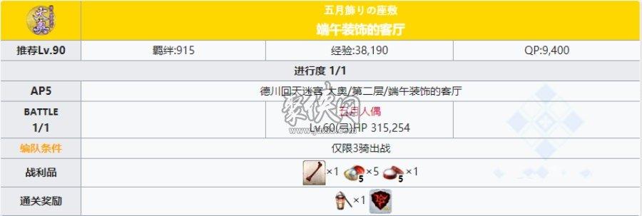fgo大奥活动迷宫第二层副本配置一览!
