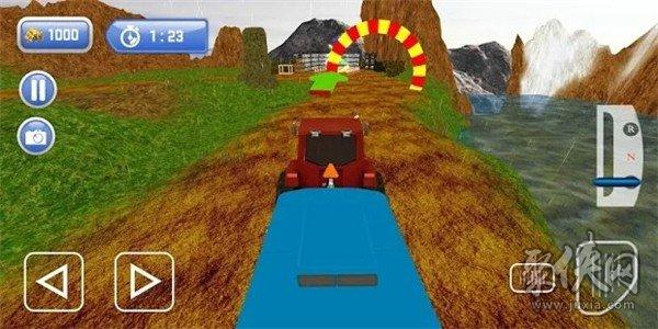 救援拖拉机模拟器