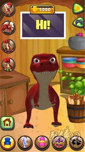 说话的恐龙