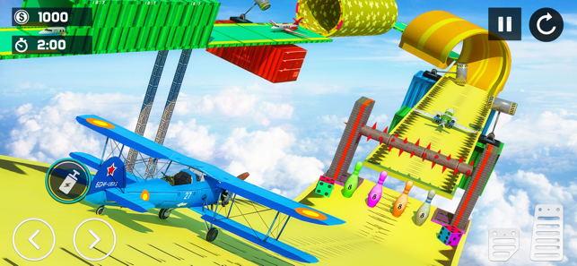 飞机竞速3D仿真器截图