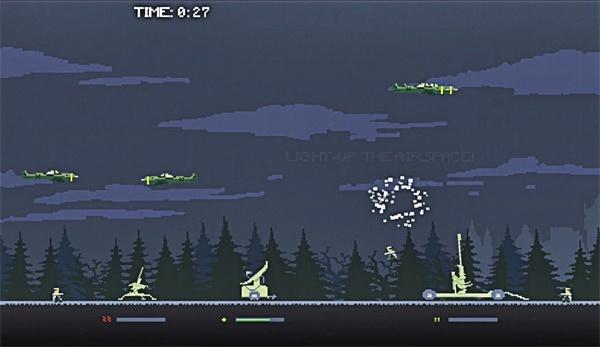 防空飞机截图