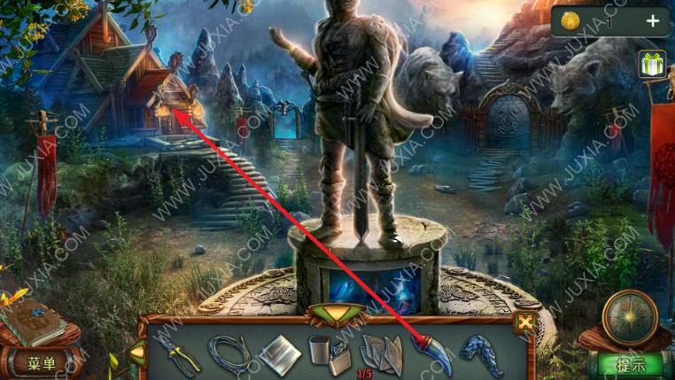密室逃脱糖果乐园攻略第二章 石龙雕像连线游戏怎么过