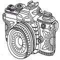 素描绘画相机