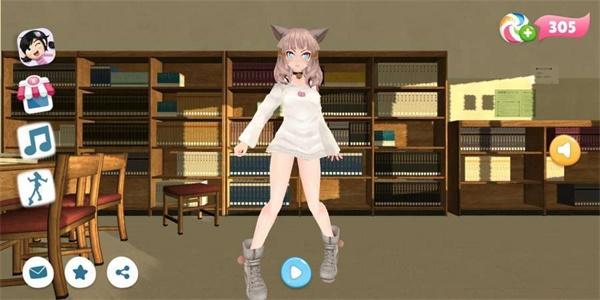 学校女生舞蹈截图