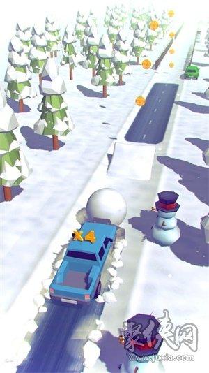 旋转式清雪机