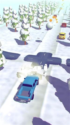 旋转式清雪机截图