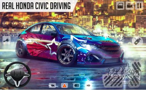 本田思域模拟驾驶