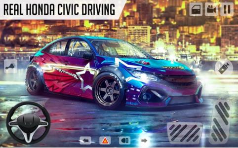本田思域模拟驾驶截图