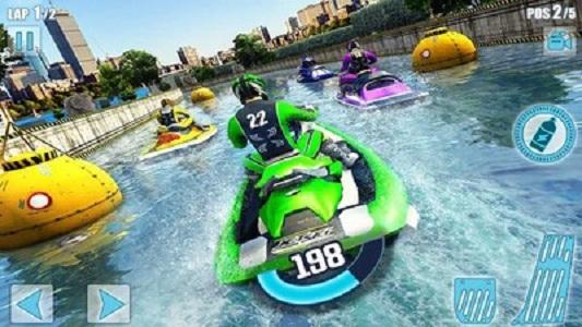 水上摩托艇竞赛3D截图
