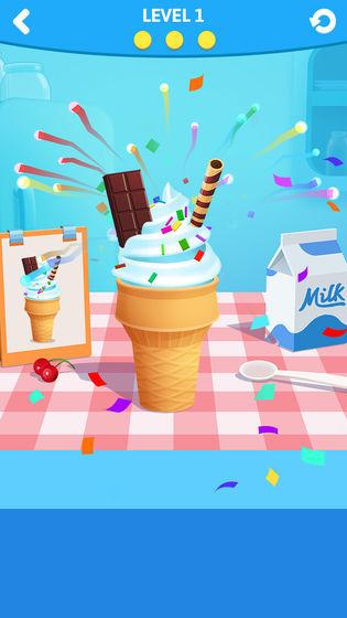 趣味冰淇淋卷截图