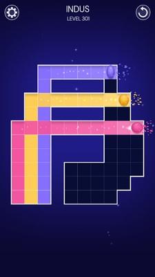 色彩球迷宫截图