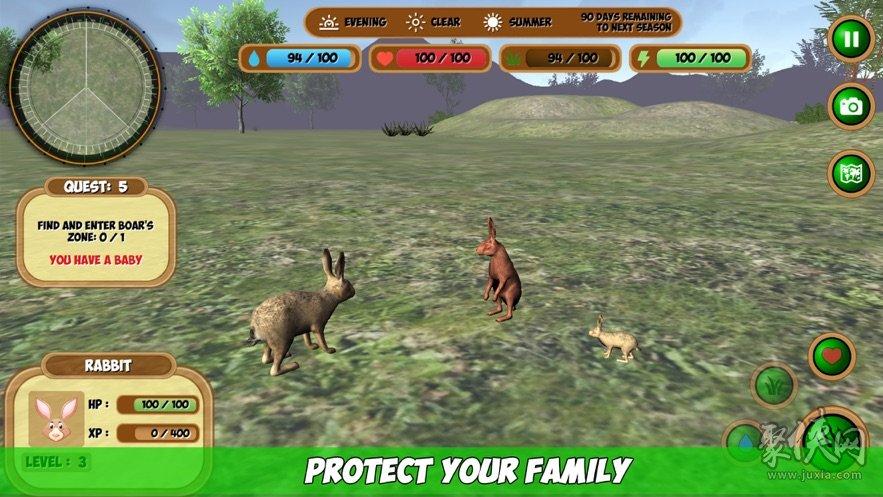 森林动物模拟器