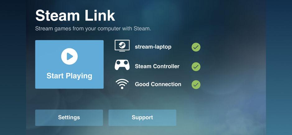 Steam Link截图