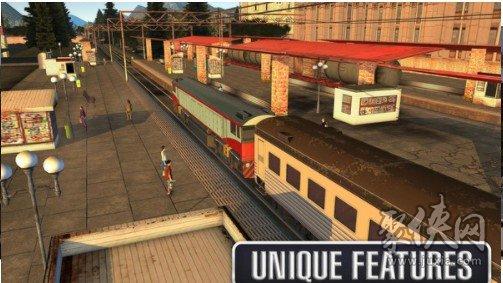 驾驶火车模拟器