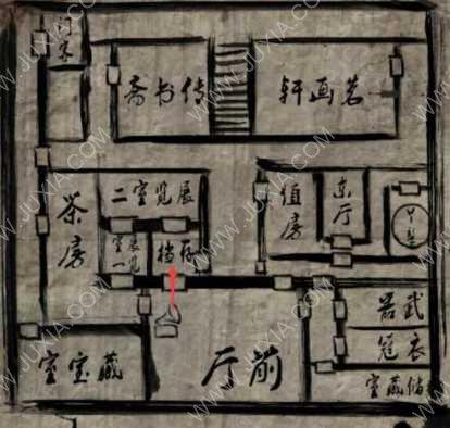 纸人攻略第三章铃铛门怎么找 虎头铃在哪个房间