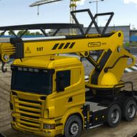 模拟挖掘机建造大楼