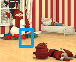 逃脱游戏圣诞节夜晚攻略下 柜子抽屉怎么打开