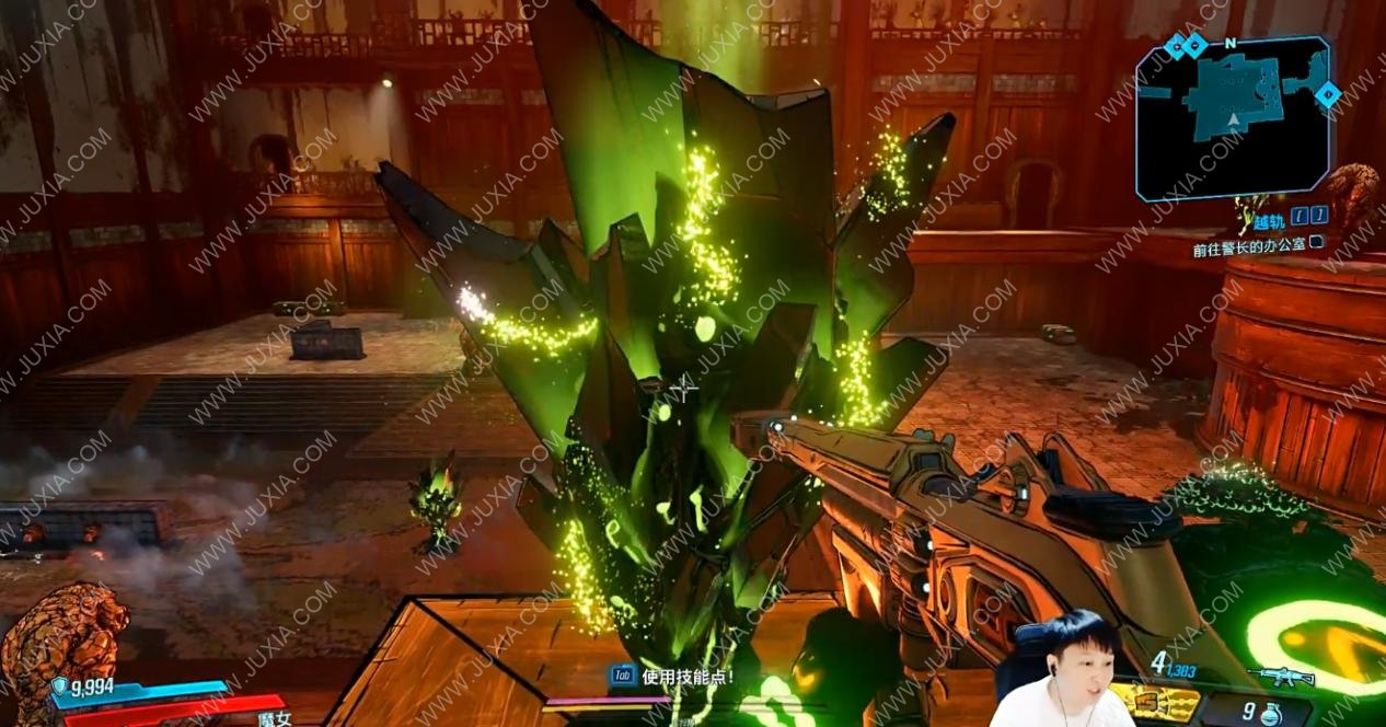 《无主之地3:浴血镖客》火爆上线 虎牙主播带你体验超越时空之旅