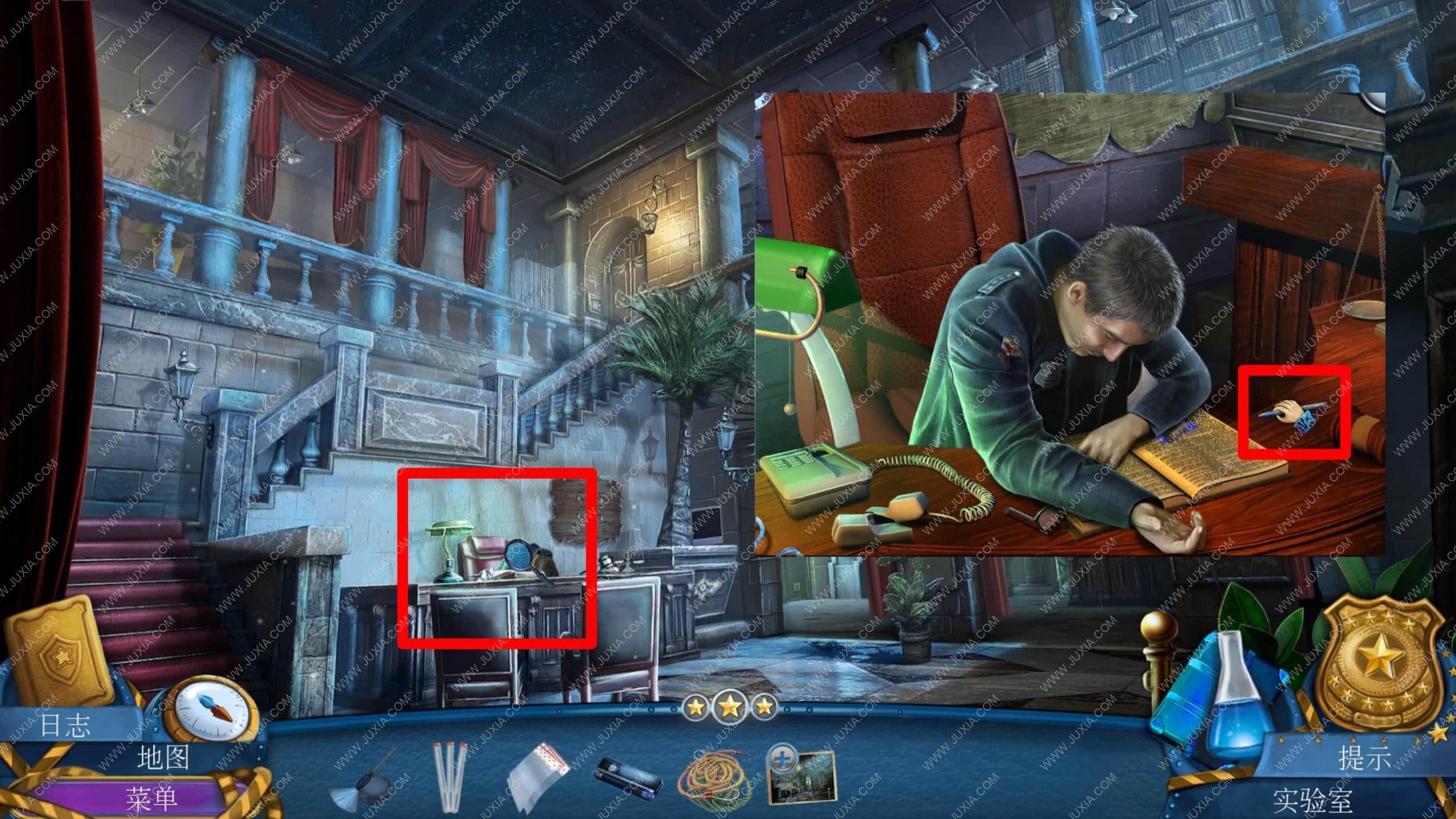 密室逃脱滚动迷城攻略第四章 幽灵档案罪恶的面孔攻略