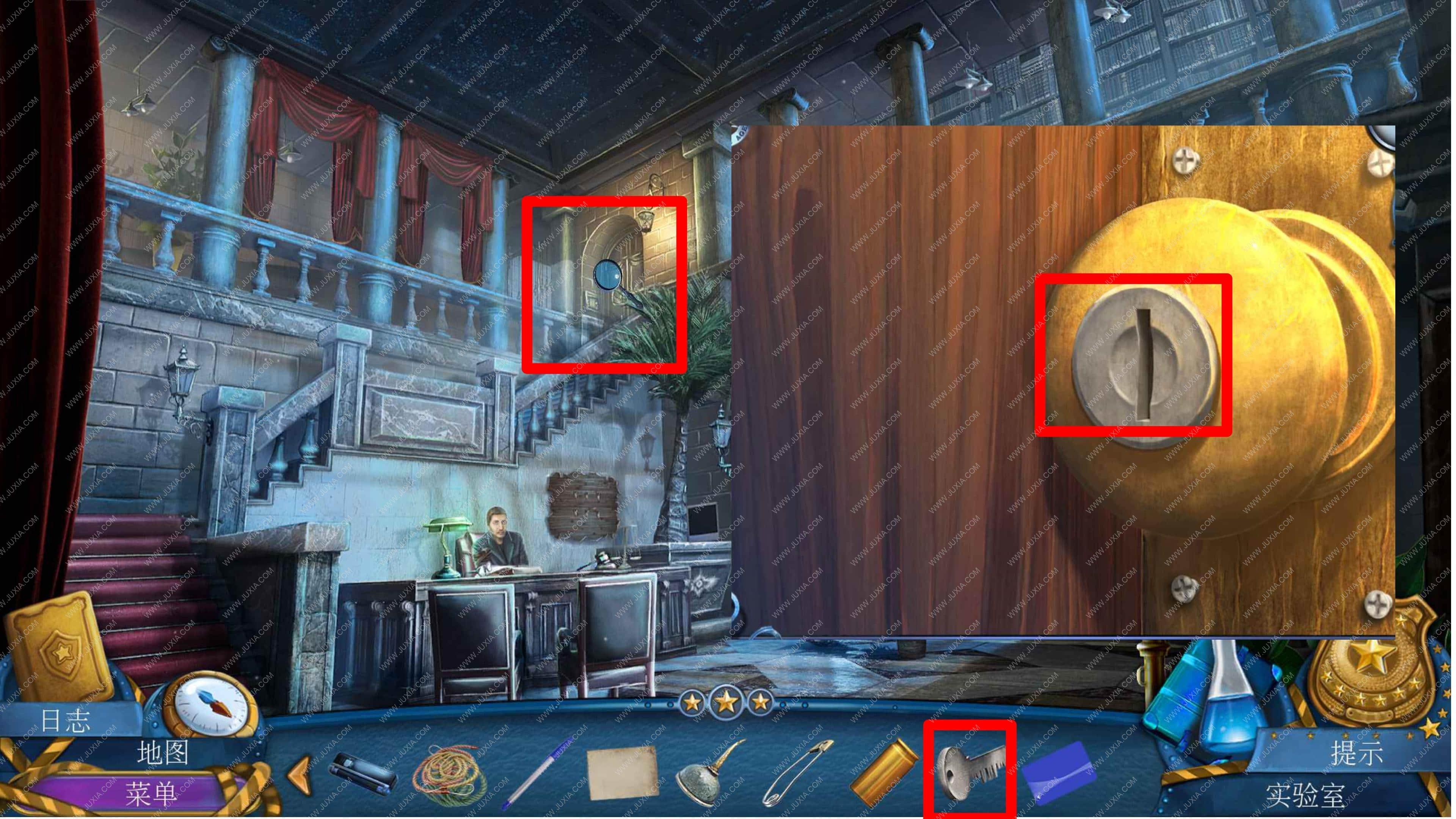 密室逃脱滚动迷城攻略第四章 幽灵档案罪恶的面孔攻略档案室