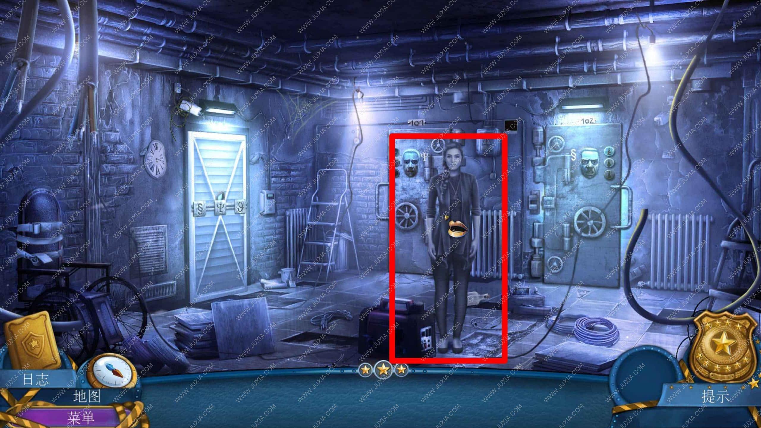 密室逃脱滚动迷城攻略第六章 幽灵档案罪恶的面孔攻略