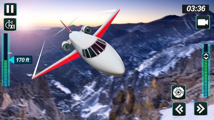飞机飞行模拟器2020截图