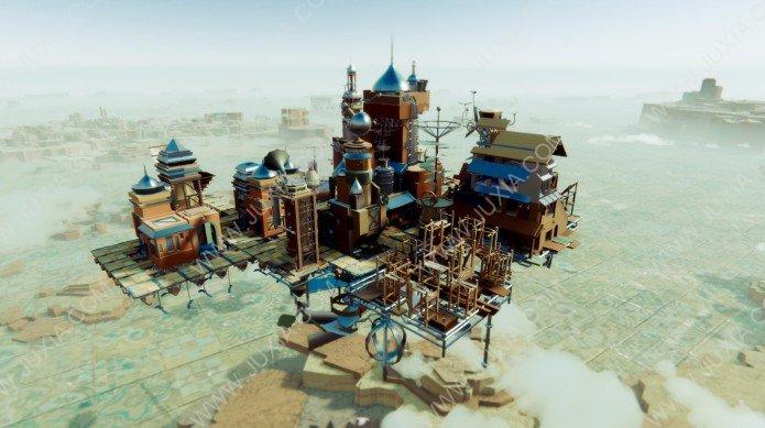 模拟经营《空中王国》实机演示爆出 飞行与探索结合的建造游戏