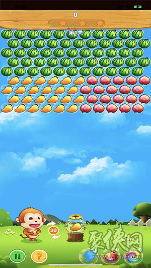 水果泡泡龙
