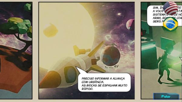小星球大战斗截图