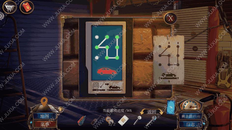 密室逃脱19离奇失踪攻略第七部分车库 汽车怎么通电