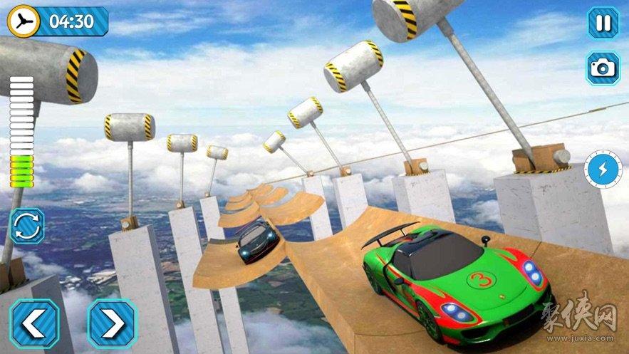 巨型坡道特技赛车