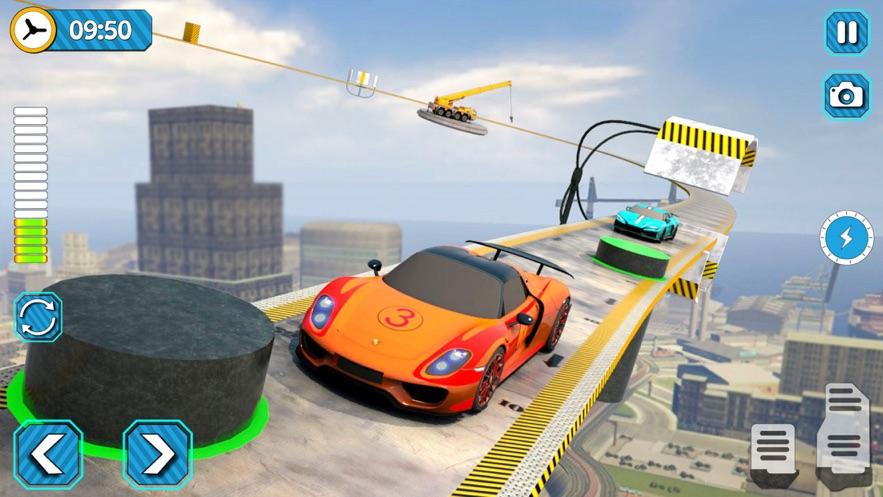巨型坡道特技赛车截图