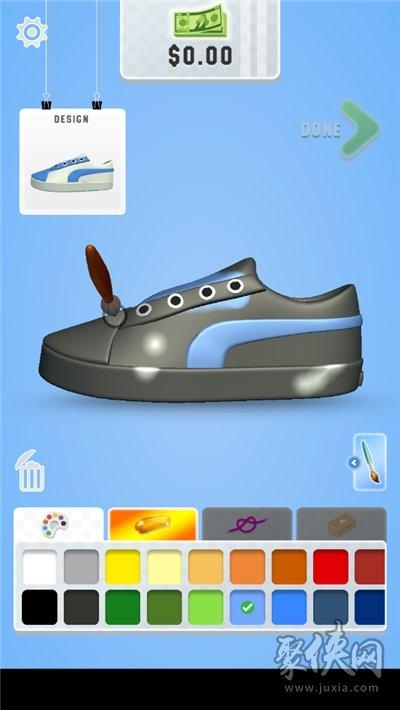 运动鞋的艺术